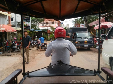 My first tuk-tuk ride.
